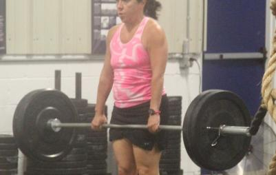 dead lifts, deadliest, Lisa Marin, Pennington CrossFit